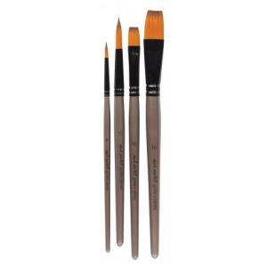 Acrylic Brush Set  4pcs  BMHS0015