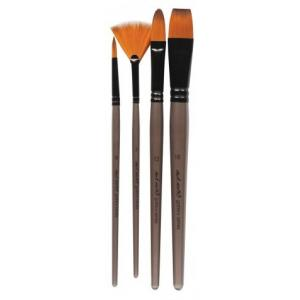 Acrylic Brush Set  4pcs  BMHS0012