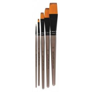 Acrylic Brush Set  5pcs  BMHS0016