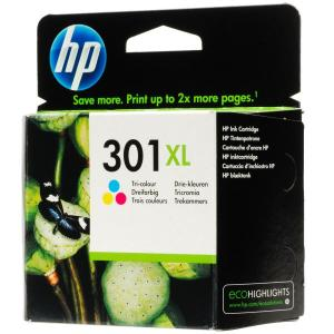 HP INK 301XL  COLOURS